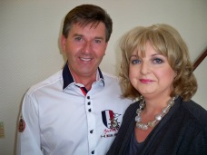 Aoife with Daniel O'Donnell