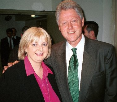 Aoife with Bill Clinton