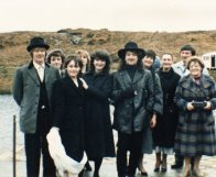 Aoife with Bono and crew
