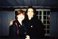 Aoife with Brian Kennedy