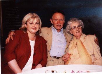 Aoife, Phil, and Bríd (Aoife's Mum)